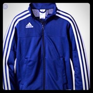 Adidas Dark Blue Track Jacket